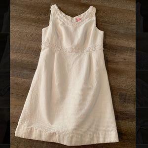 Lilly Pulitzer white dress size 8